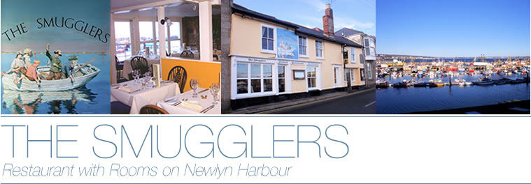 The Smugglers - A small restaurant and cottage on Newlyn's harbour front